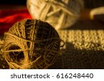 tangled twine in natural light | Shutterstock . vector #616248440