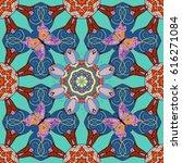 flower illustration. seamless... | Shutterstock . vector #616271084