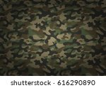 texture military camouflage... | Shutterstock .eps vector #616290890
