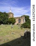 Small photo of Gladstone's family church in Hawarden, North Wales.