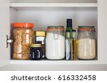 Stocked Kitchen Pantry With...