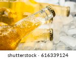 Bottles Of Cold And Fresh Beer...