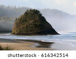 Ocean Scenic Rock  Oregon Coas...