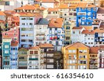 colorful buidlings at city | Shutterstock . vector #616354610
