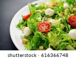 salad on black table | Shutterstock . vector #616366748