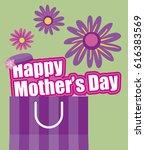 happy mother s day  | Shutterstock .eps vector #616383569