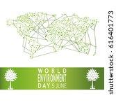Vector Of A World Environment...
