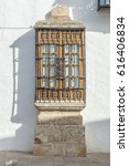 Window Of Spanish Colonial Style