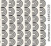 monochrome minimalistic tribal... | Shutterstock .eps vector #616412120