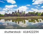 angkor wat temple  siem reap ... | Shutterstock . vector #616422254
