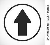 arrow icon  stock vector...