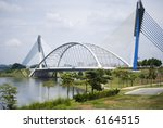 One of the Bridge at Putrajaya, Malaysia - stock photo