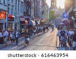 amsterdam  netherlands  june 22 ... | Shutterstock . vector #616463954