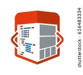 html programming code | Shutterstock .eps vector #616483334