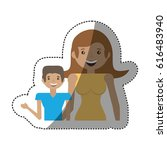 people together family image | Shutterstock .eps vector #616483940