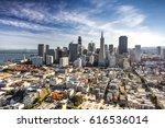 san francisco downtown ... | Shutterstock . vector #616536014
