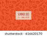 seamless pattern with hand...   Shutterstock .eps vector #616620170
