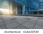 empty pavement and modern... | Shutterstock . vector #616620530