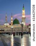 medina  saudi arabia  ksa   ... | Shutterstock . vector #616629338