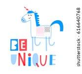 cute creative card template... | Shutterstock .eps vector #616640768