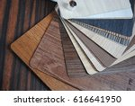 surface of pressed wood close up | Shutterstock . vector #616641950