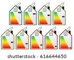 energy efficiency labels. eps10 ...   Shutterstock .eps vector #616644650