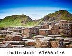 detail of the rocky coastline... | Shutterstock . vector #616665176