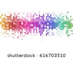 abstract background with color... | Shutterstock .eps vector #616703510
