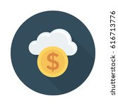 cloud currency   Shutterstock .eps vector #616713776