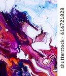 abstract art creative hand... | Shutterstock . vector #616721828