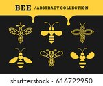 bee abstract collections   logo ...   Shutterstock .eps vector #616722950