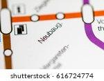 neubaug station. vienna metro... | Shutterstock . vector #616724774