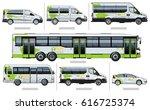 vector passenger transport... | Shutterstock .eps vector #616725374