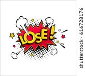 comic speech bubble with...   Shutterstock .eps vector #616728176