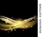 Golden Luxury Wave Layout...