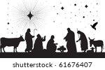 star of bethlehem. raster... | Shutterstock . vector #61676407