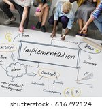 Small photo of Implementation accomplishment achieve contemporary