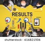 business corporate progress... | Shutterstock . vector #616821506