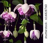 Seamless Pattern Of Beautiful...