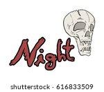 fear night symbol   Shutterstock .eps vector #616833509