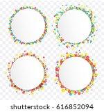 sale promotion label on ... | Shutterstock .eps vector #616852094