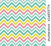 chevrons pattern texture or... | Shutterstock .eps vector #616853774