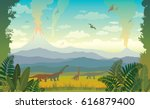 vector illustration with... | Shutterstock .eps vector #616879400