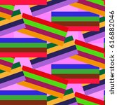 endless abstract pattern.... | Shutterstock .eps vector #616882046
