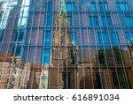 riga  latvia   june 25  2016 ... | Shutterstock . vector #616891034