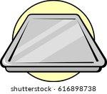 sheet pan | Shutterstock .eps vector #616898738
