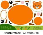 education paper game for... | Shutterstock .eps vector #616935848