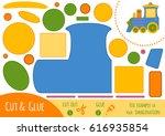 education paper game for... | Shutterstock .eps vector #616935854