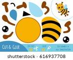 education paper game for... | Shutterstock .eps vector #616937708