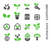 plant icon | Shutterstock .eps vector #616941488